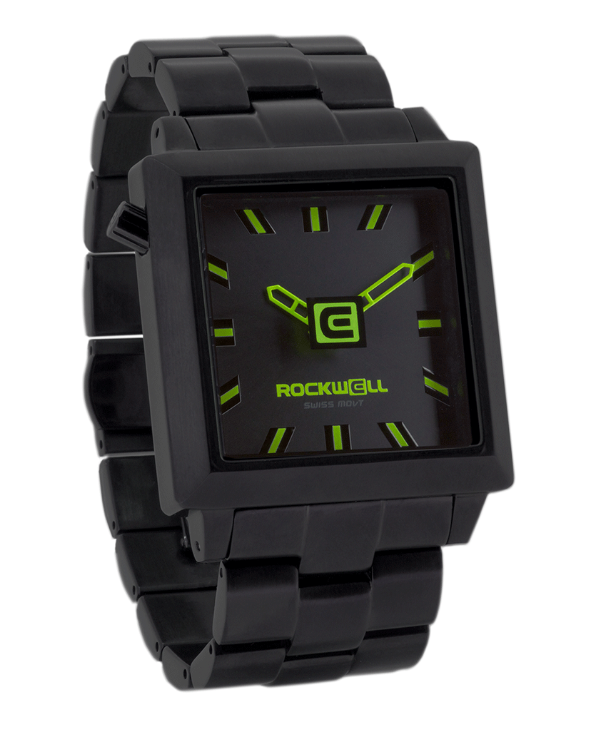 40mm2 (Black/Green - Watch)