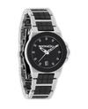 Katelynn (Silver/Black Ceramic - Watch)
