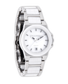 Katelynn (Silver/White Ceramic - Watch)