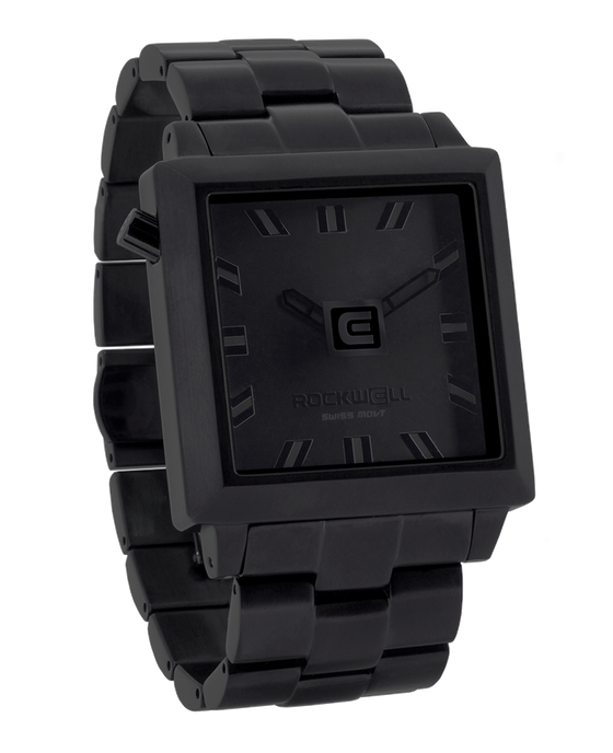 Phantom Black 40mm Square Watch