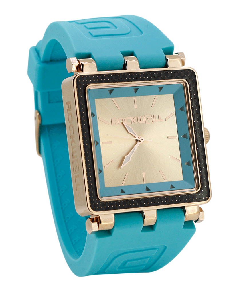 CF Lite (Teal/Rose Gold - Watch)