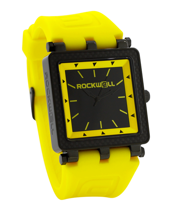 CF Lite Yellow/Black Dial with Yellow Silicone band - Watch