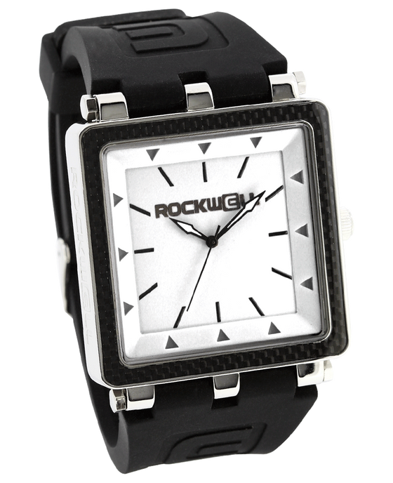 CF BlackBand and White Dial - Watch)