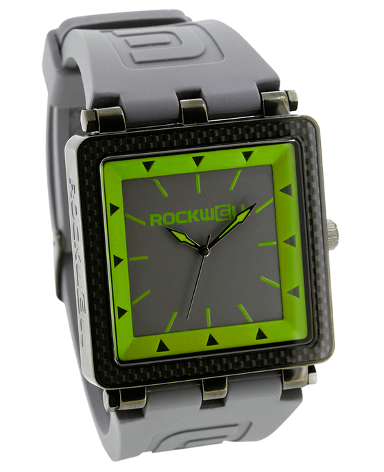 CF Gray Silicone band with Green/Grey dial - Watch