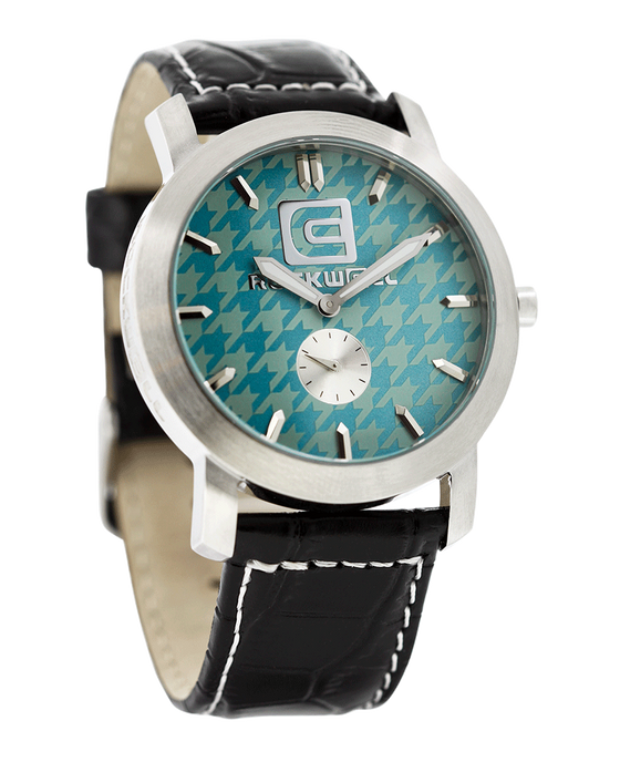Cartel (Mint Houndstooth Leather - Watch)