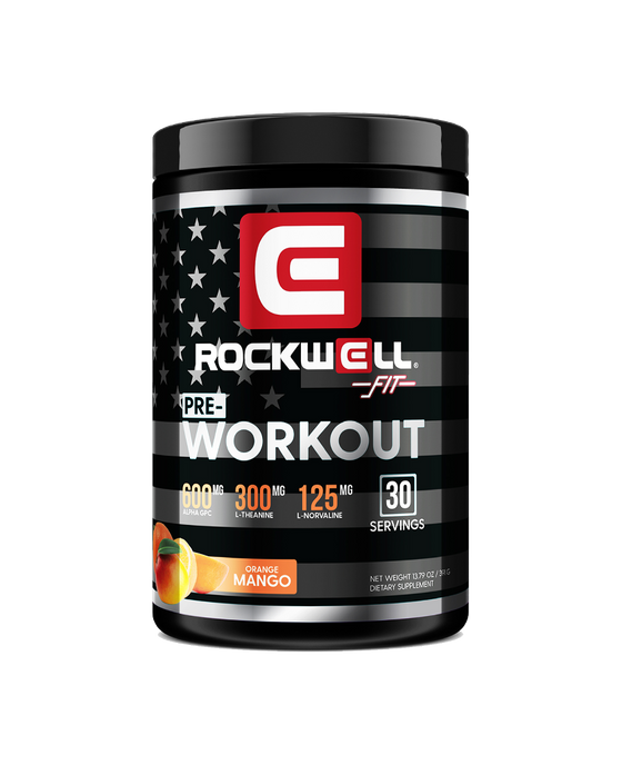 Rockwell Fit™ Pre-Workout: Orange Mango
