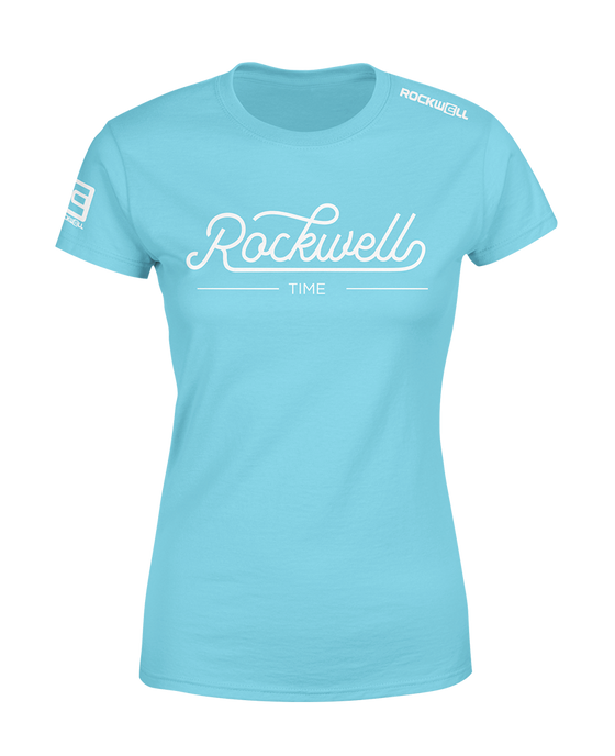 Women's Alpine Rose T-Shirt - Blue