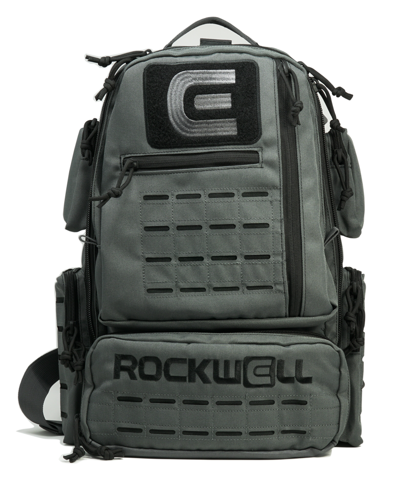 The Rockwell Ruck Backpack - Gray