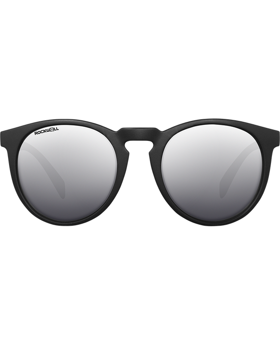 The Stella - Matte Black w/Silver Lens