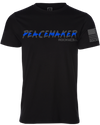 Thin Blue Line Peacemaker T-Shirt Black