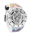 The Coliseum Fit™ - FORUM EDITION White & Tie Dye Digital Watch