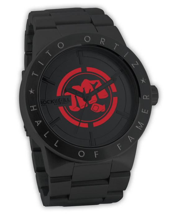 Phantom Black Maverick with Custom Tito Ortiz Dial