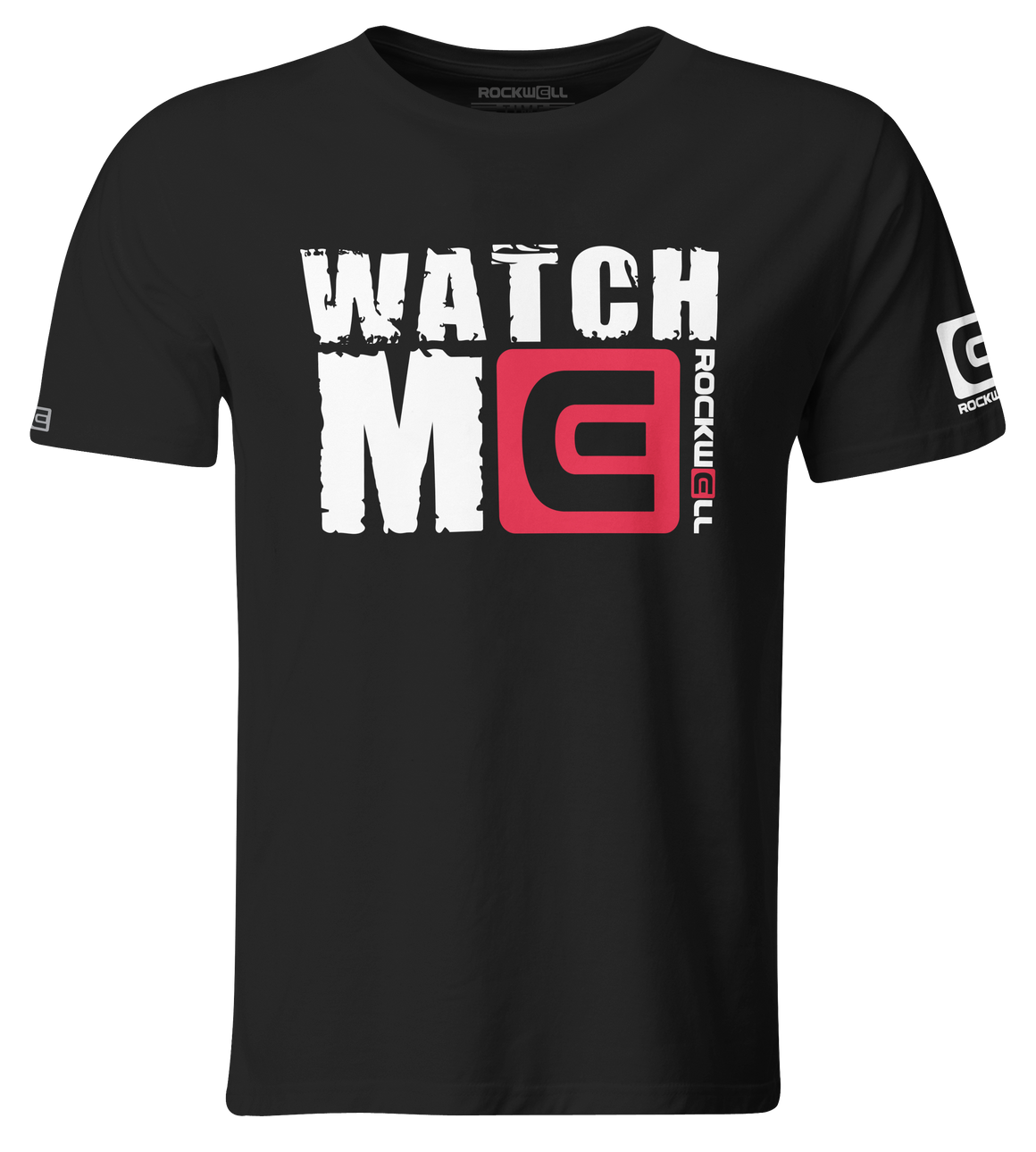 Watch Me T-Shirt Black
