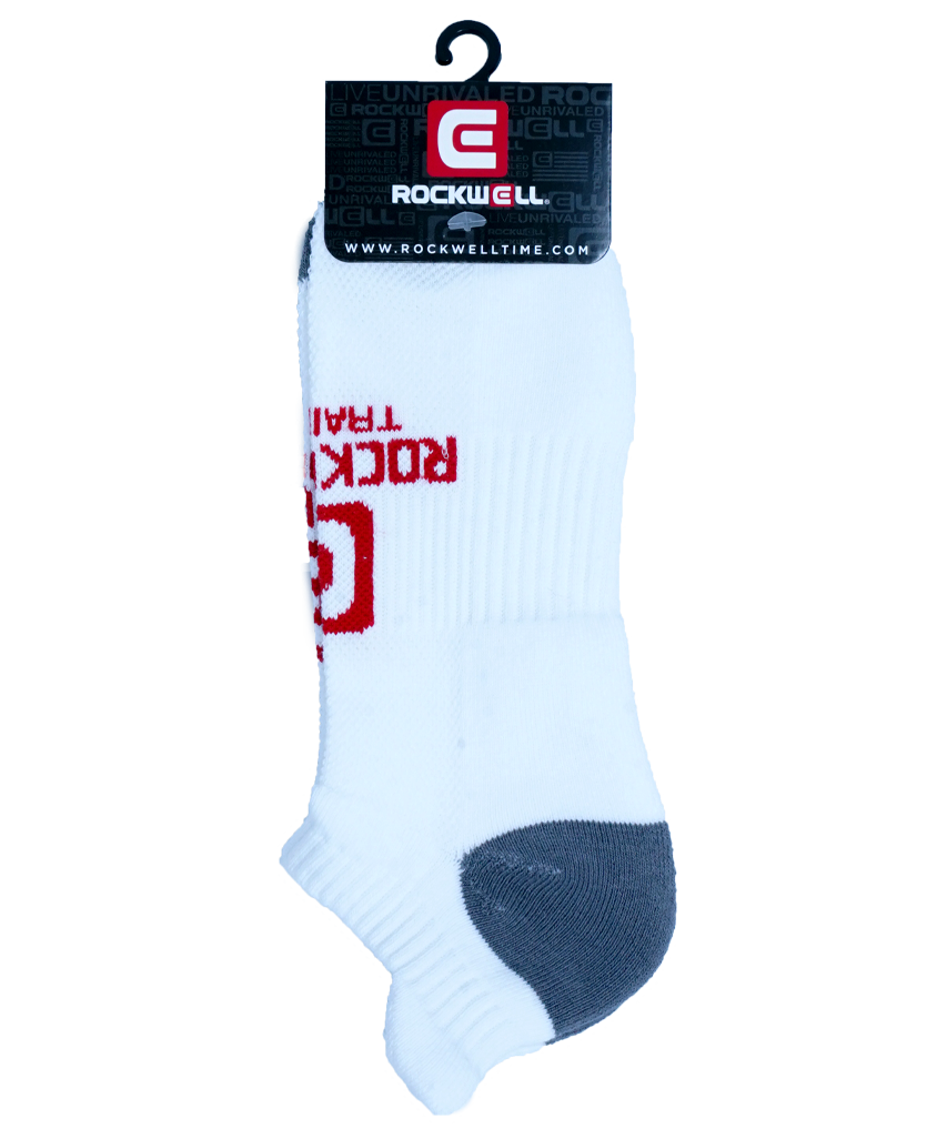 Rockwell Training White Ankle Socks