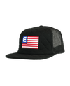 Freedom, Quilted Trucker - Black
