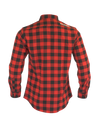 The Titan - Black/Red Plaid Long Sleeve