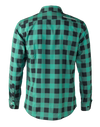 The Titan - Black/Green Plaid Long Sleeve