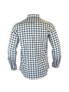 The Titan - Grey Plaid Long Sleeve