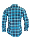 The Titan - Blue Plaid Long Sleeve