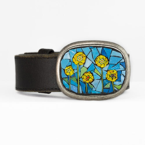 Sunflower Belt Buckle