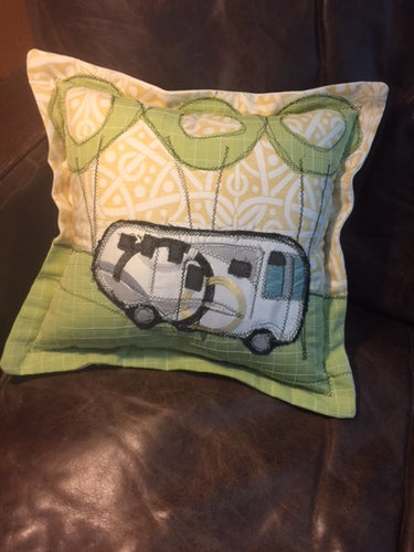 Commissioned Camper Pillow