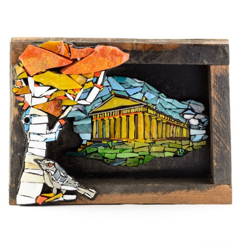 Nashville Parthenon - Mosaic Art