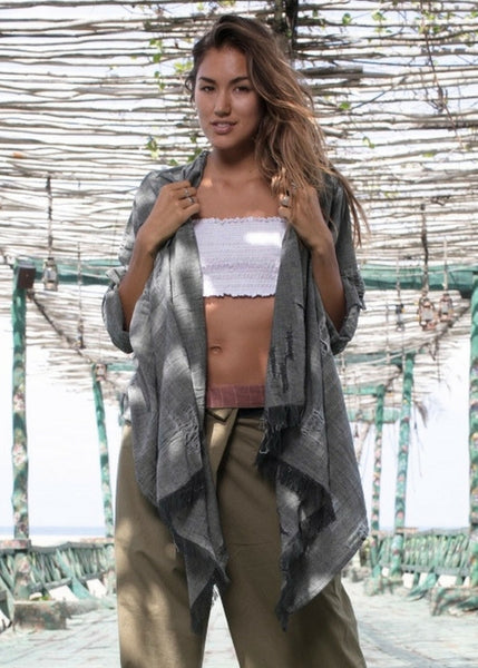 Lost And Found By J Friedman, beachwear, resort wear, bohemian, beach, travel, beautiful, comfort, 100% cotton, poncho, top, cardigan