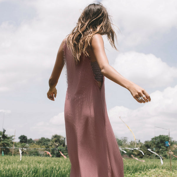Lost And Found By J Friedman, beachwear, resort wear, bohemian, beach, travel, beautiful, comfortable, cotton, floor length, dress, sun dress, rust color