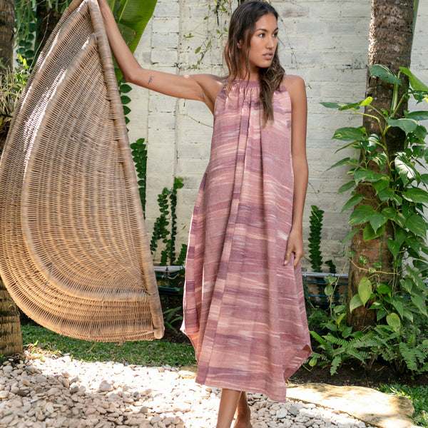 Lost And Found By J Friedman, beachwear, resort wear, bohemian, beach, travel, beautiful, comfort, dress, warm tones, pink, mauve