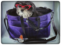 Waxed Canvas Airpup Airline Pet Carrier