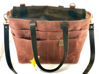 Small Pup-to-Go Purse Chestnut with backpack option - the pop company