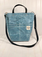 Sky blue Purse Of Pockets - the pop company