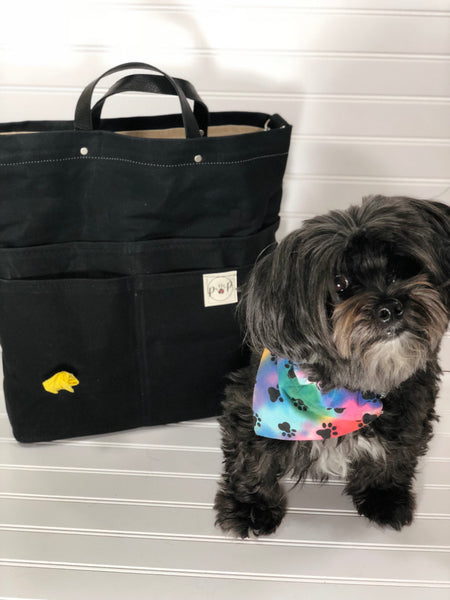 Classic black Traveler Pet Owners Purse