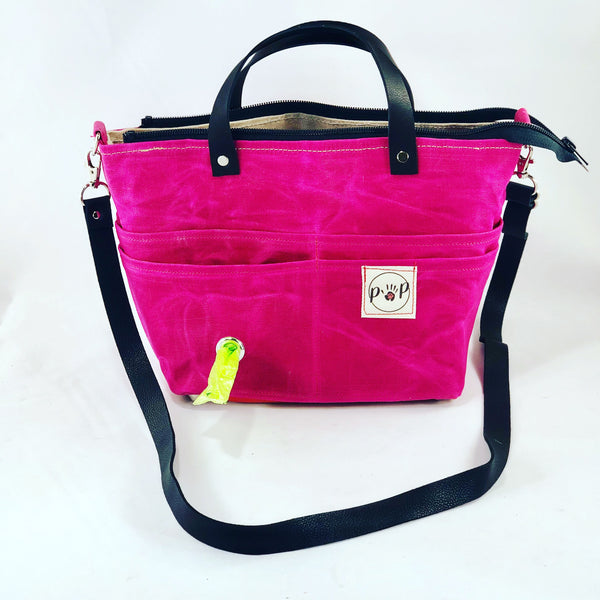 Mini-Pup Pet Owners's Purse, Sangria - the pop company