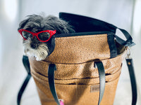 Pup-to-Go Purse vegan leather - the pop company
