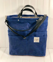 Marine blue Purse Of Pockets - the pop company