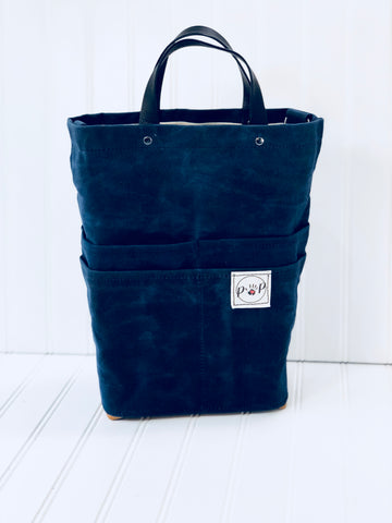 Navy Purse Of Pockets new size