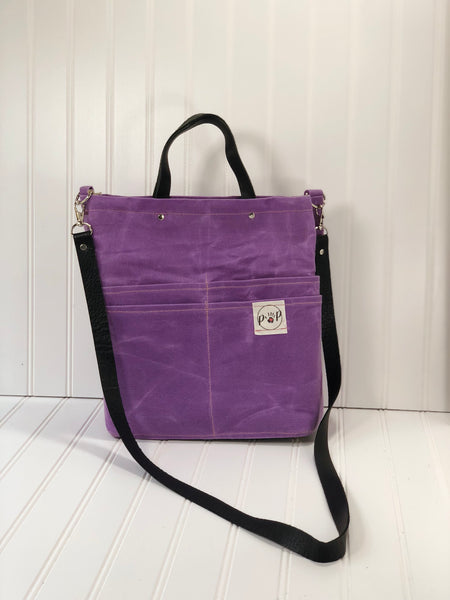 Lavender Purse Of Pockets