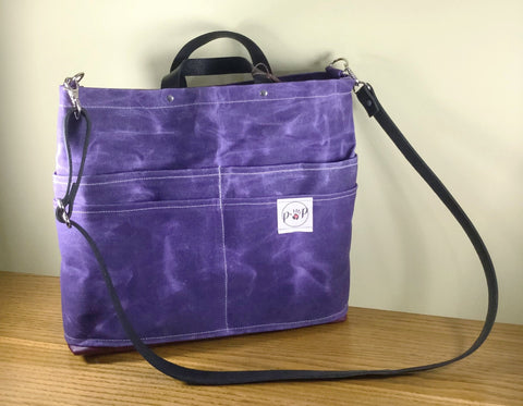 Amethyst Travelers Purse Of Pockets