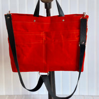 Orange Purse Of Pockets - the pop company