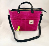 Mini-Pup Pet Owners's Purse, Sangria