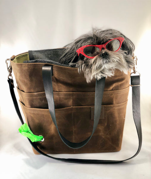 Chestnut Pup-to-Go Purse