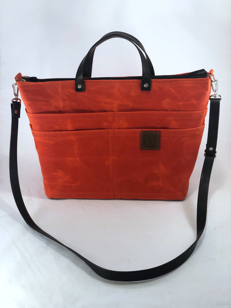 Purse of Pockets orange - the pop company
