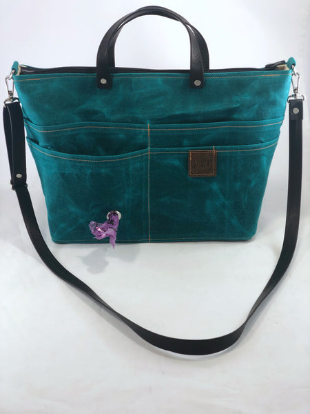 Travelers Pet Owners Purse Peacock