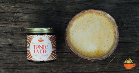 Seasons Change Tonic Latte with Cup