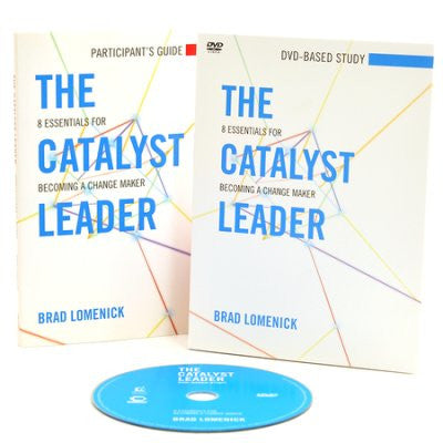 The Catalyst Leader: 8 Essentials for Becoming a Change Maker, DVD-Based Study Pack