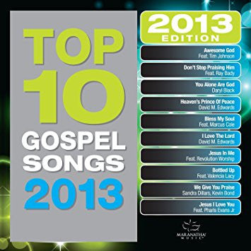 Top 10 Gospel Songs 2013