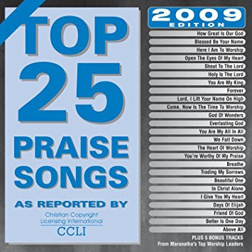 Top contemporary christian songs 2009