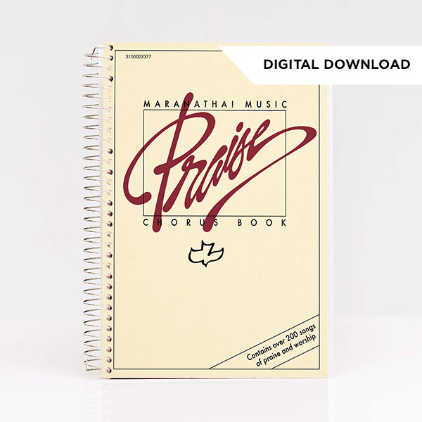 Praise Chorus Songbook BEIGE (Digital Download)