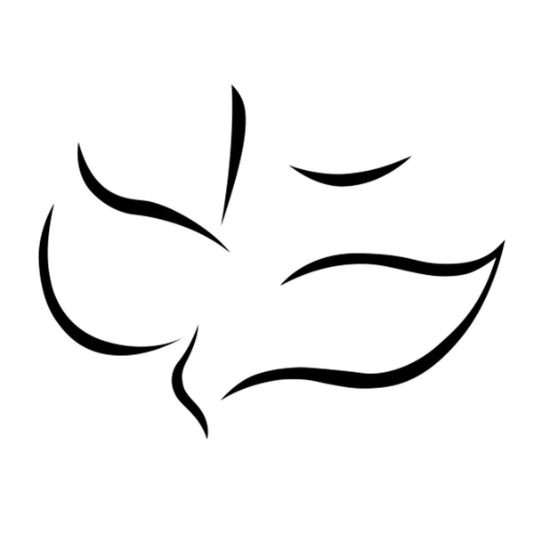 Maranatha! Dove Decal